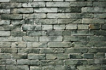 Wall Texture stock photo, Grungy Brick Wall Texture by Emyr Pugh