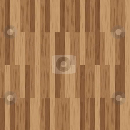 Wood plank stock photo, Abstract wooded tile with a plank design in brown by Michael Travers