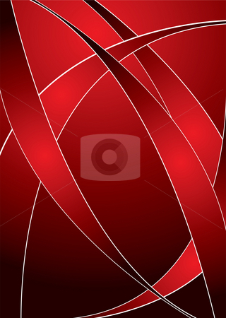 Red swish stock photo, Abstract red and black background with copy space by Michael Travers