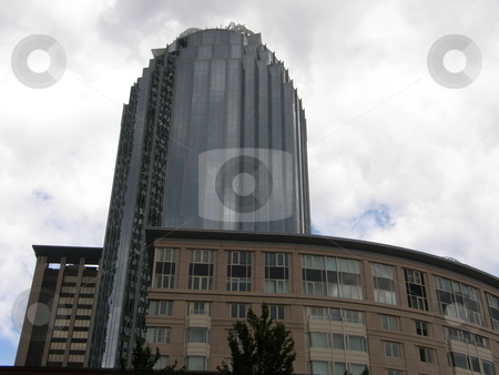 Skyscraper in Boston stock photo, Skyscraper in Boston (USA) by Ritu Jethani