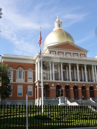 Boston State House stock photo,  by Ritu Jethani