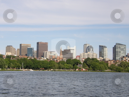 Boston City stock photo, Boston City in USA by Ritu Jethani