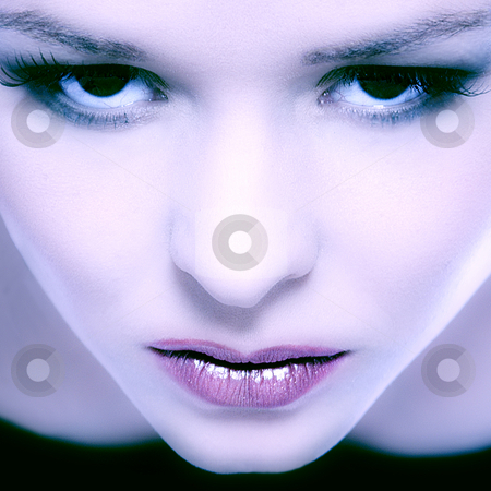 Colors stock photo, Modelface complete filled by Frenk and Danielle Kaufmann