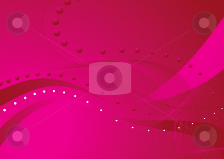 Pink blend stock photo, Abstract background with wavy lines and a pink theme by Michael Travers