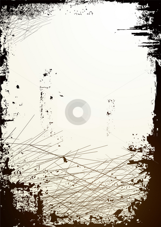 Cut board black stock photo, Abstract tired and worn background ideal for placing copy on by Michael Travers
