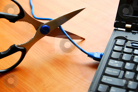 Wireless technology stock photo, Wireless technology concept by Elena Elisseeva