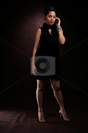 Fashion shoot stock photo, Beautiful asian girl in model fashion shoot by Jonas Marcos San Luis