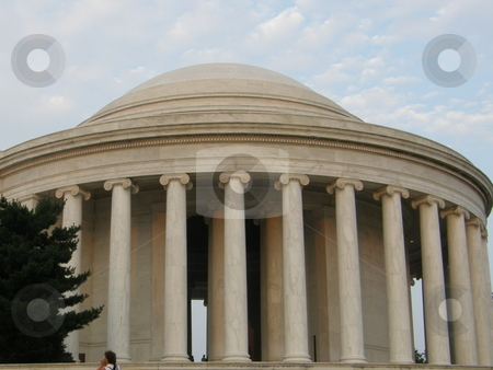 Jefferson Memorial stock photo, Jefferson Memorial in Washington DC by Ritu Jethani