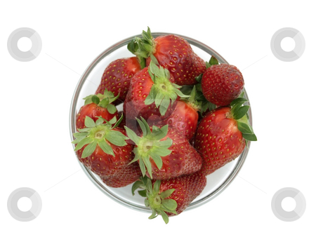 Strawberries bowl stock photo,  by Adrian Costea
