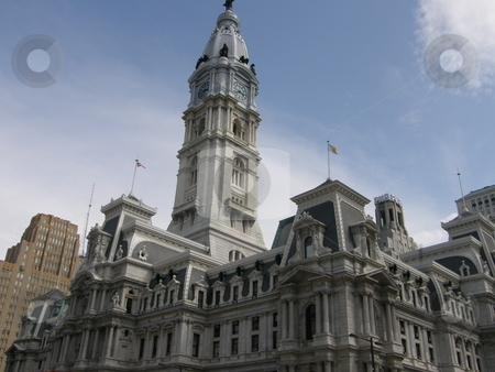 City Hall in Philadelphia stock photo, City Hall in Philadelphia, Pennsylvania by Ritu Jethani