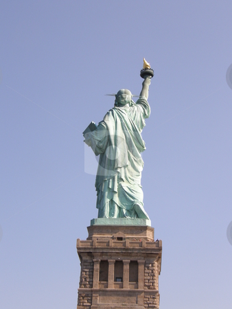 Statue of Liberty stock photo, Statue of Liberty (USA) by Ritu Jethani