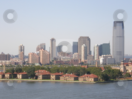 New York City Skyline stock photo, New York City Skyline (USA) by Ritu Jethani