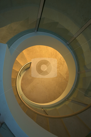 Majestic Spiral Staircase Abstract stock photo, Majestic Spiral Staircase Abstract by Andy Dean