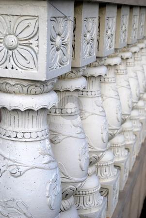 Column rails stock photo, Column rails by Robert Cabrera