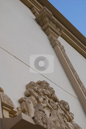 Deatailed wall stock photo, Detailed wall by Robert Cabrera
