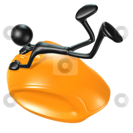 Mouse Ride stock photo, A Concept And Presentation Figure in 3D by LuMaxArt