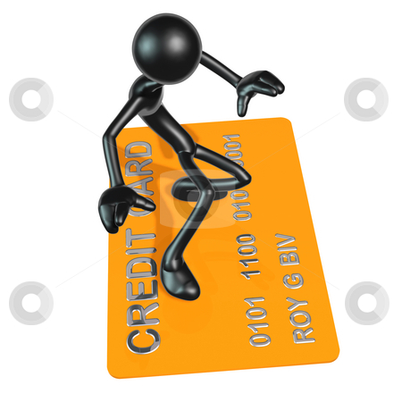 Credit Ride stock photo, A Concept And Presentation Figure in 3D by LuMaxArt