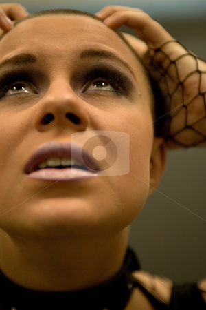 I do not know what to do with myself stock photo, Teen holding her head in total despair by Frenk and Danielle Kaufmann