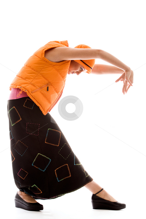 My new alternative moves stock photo, Young good looking woman posing in a new style by Frenk and Danielle Kaufmann