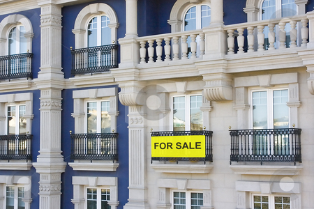 Flat stock photo, Luxury flats and some of them are for sale by Ivan Montero