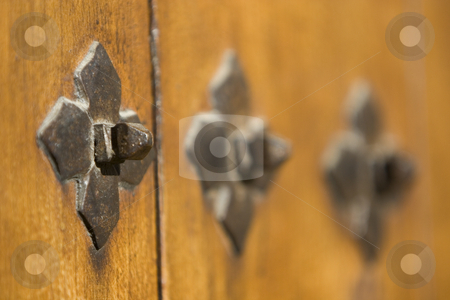 Door stock photo, Image of the detail of an old door by Ivan Montero