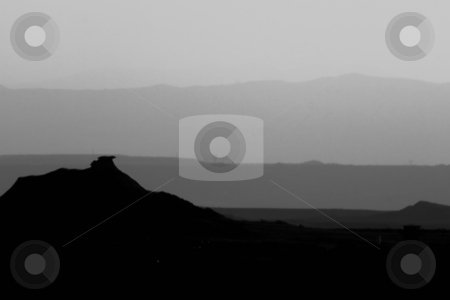 Bardenas stock photo, Image of the desert of Bardenas Reales in Navarra, Spain by Ivan Montero