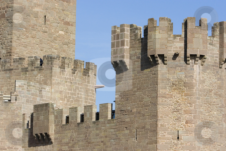 Castle stock photo, Image of the castle of Javier in Navarra, Spain by Ivan Montero