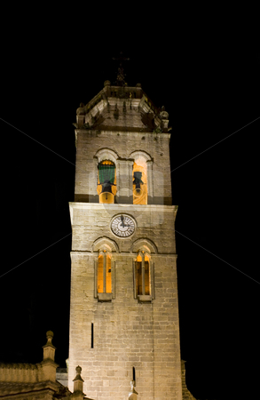 Tower stock photo, Bells of a tower in a christian cathedral by Ivan Montero