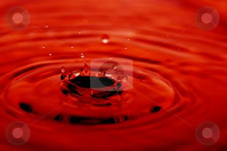 Water stock photo, Drops of water flowing relaxing image by Ivan Montero