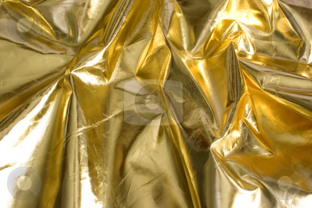 Gold stock photo, A gold sheet for using as a background by Ivan Montero