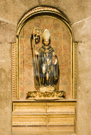 Image stock photo, Image of a statue of a christian saint by Ivan Montero
