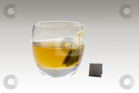 Tea stock photo, A glass with full of healthy tea by Ivan Montero