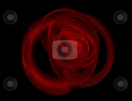 Background love rose abstract design stock photo, Abstract fractal render in an elegant design for using as a background by Ivan Montero