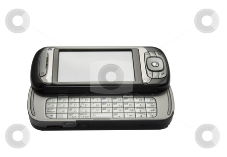 Handheld pda stock photo, Image of a pda technology device by Ivan Montero
