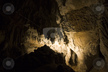 Cave stock photo, Image of the inside of a cave in navarra, spain by Ivan Montero