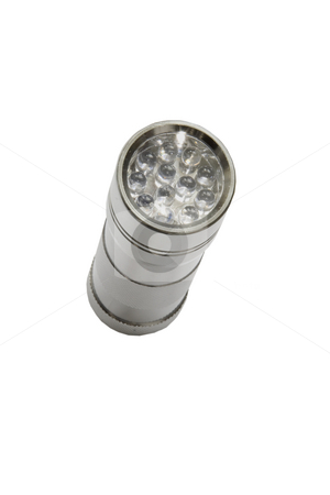 Light stock photo, Hand light torch isolated in its background by Ivan Montero