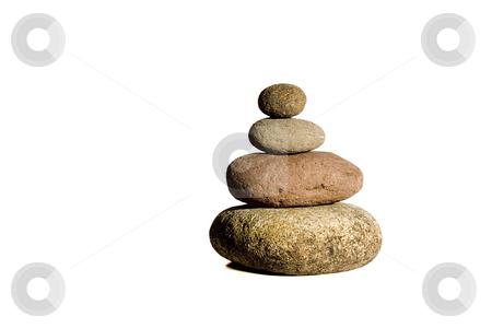 Stones stock photo, Composition of some stones conceptual image by Ivan Montero
