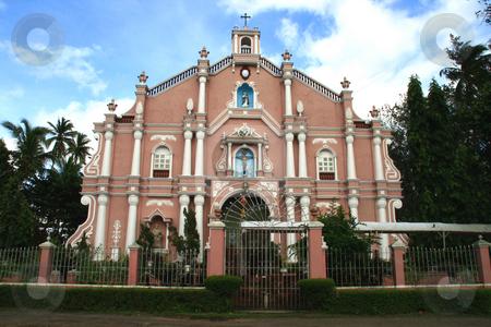 Roman Catholic Church stock photo, Front view of a Roman Catholic Church by Jonas Marcos San Luis