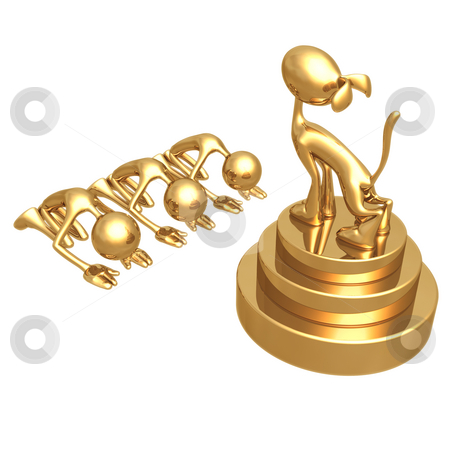 LuMaxArt Gold Guys Collection stock photo, A Concept by LuMaxArt