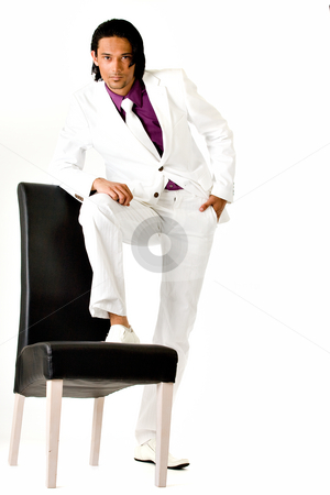 Indonesian man in a busniess suit stock photo, Young indonesian man in a business suit by Frenk and Danielle Kaufmann