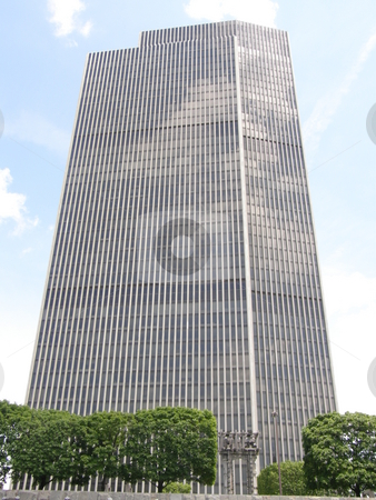Corning Tower in Albany stock photo, Corning Tower in Albany, New York by Ritu Jethani