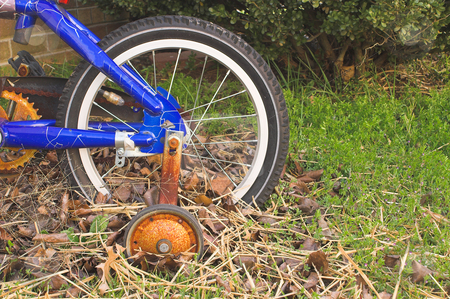 Rusty Bike stock photo, An old abandoned and forgotten bicycle rusting away. by Robert Byron