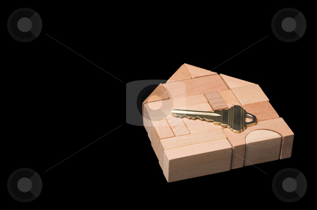 New Home stock photo, The key to a brand new home. by Robert Byron