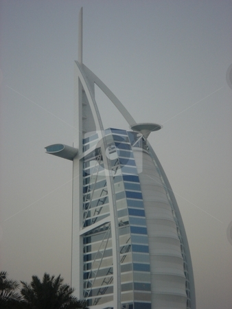 Burj Al Arab stock photo, Burj Al Arab in Dubai, United Arab Emirates by Ritu Jethani