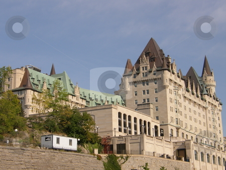 Chateau Laurier in Ottawa stock photo, Chateau Laurier in Downtown Ottawa, Canada by Ritu Jethani