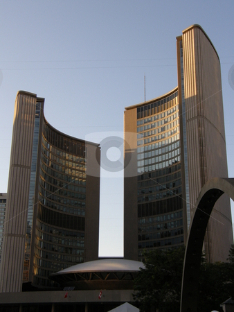 Toronto City Hall in Canada stock photo,  by Ritu Jethani