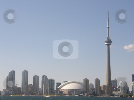 CN Tower  stock photo, CN Tower by Ritu Jethani