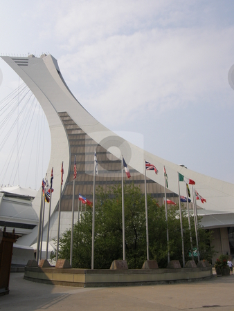 Olympic Stadium in Montreal stock photo, Olympic Stadium in Montreal (Quebec), Canada by Ritu Jethani