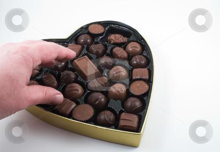 Valentines Candy stock photo,  by Robert Byron