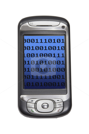 Pda stock photo, Image of a pda technology device by Ivan Montero